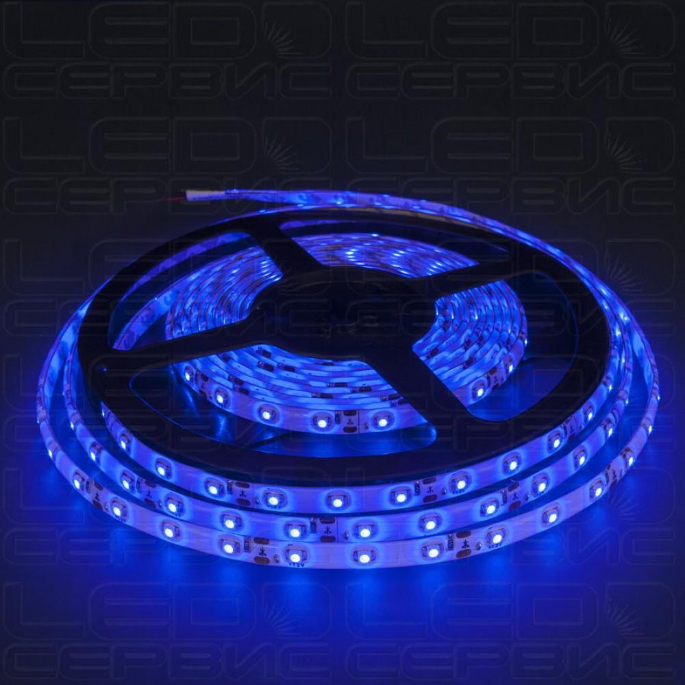 Светодиодная лента LS60 3528 IP55 синий свет