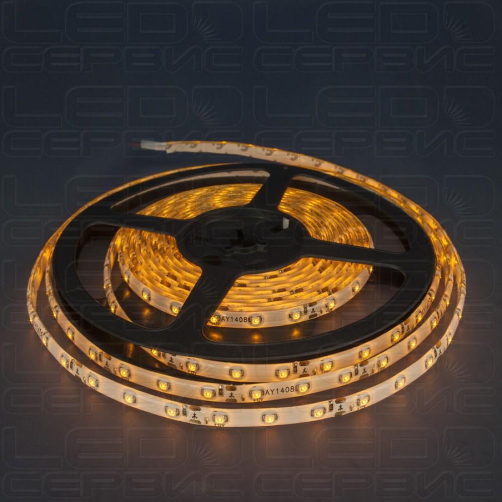 Светодиодная лента LS60 3528 IP55 желтый свет