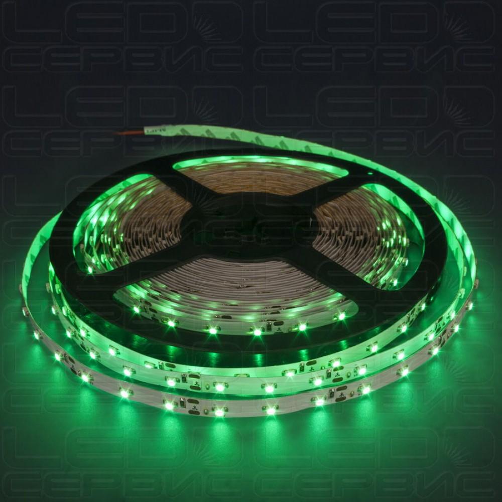 Светодиодная лента LS60 3528 IP20 зеленый свет