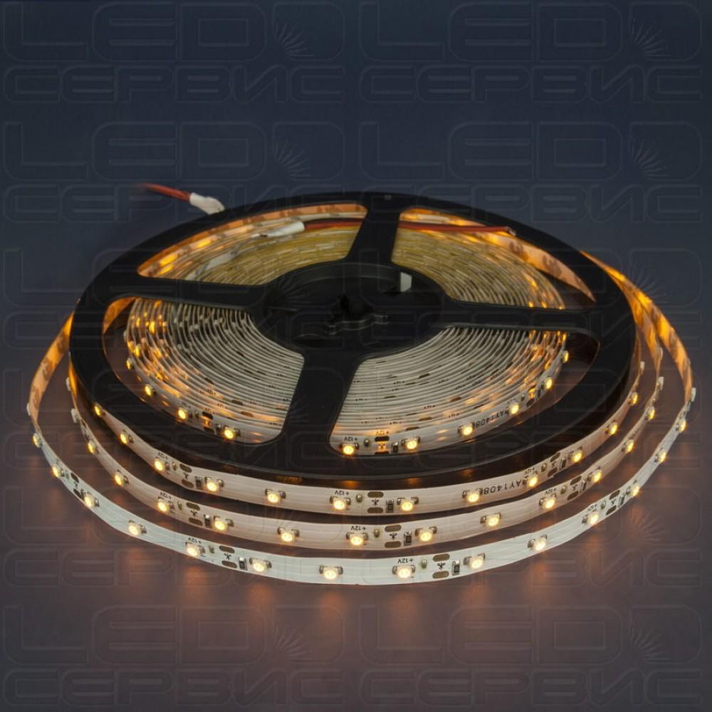 Светодиодная лента LS60 3528 IP20 желтый свет