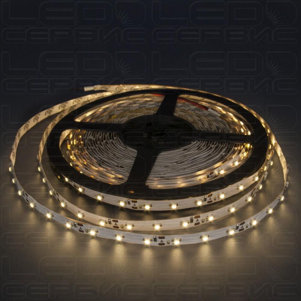 Светодиодная лента LS60 3528 IP20 теплый свет