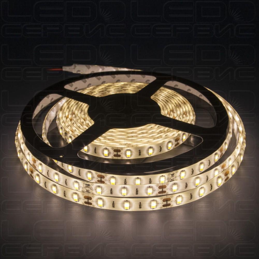 Светодиодная лента LS60 5730 IP55 теплый свет