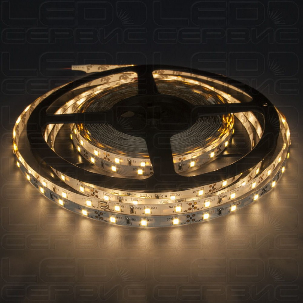 Светодиодная лента LS60 2835 IP20 теплый свет