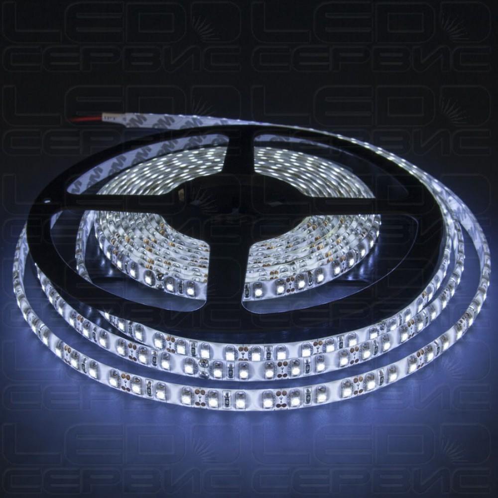 Светодиодная лента LS120 3528 24V IP55 холодный свет