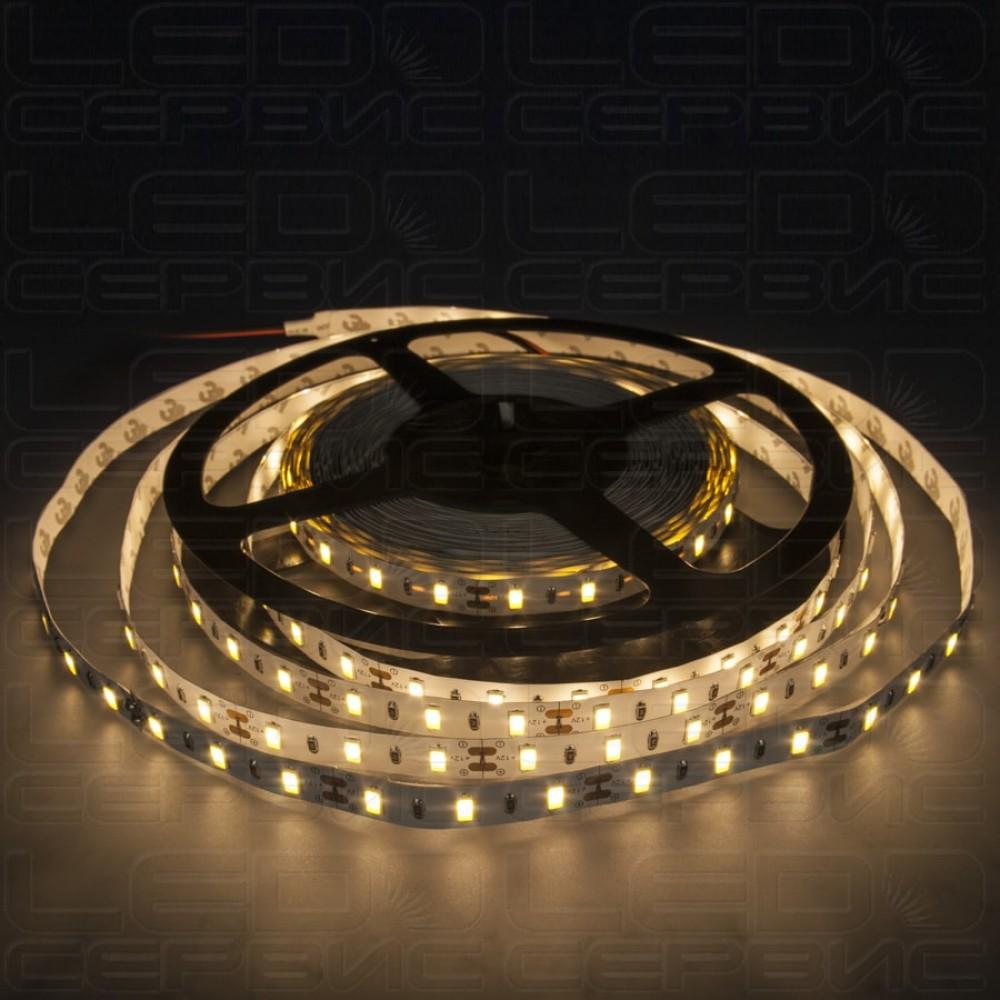 Светодиодная лента LS60 5630 IP20 теплый свет