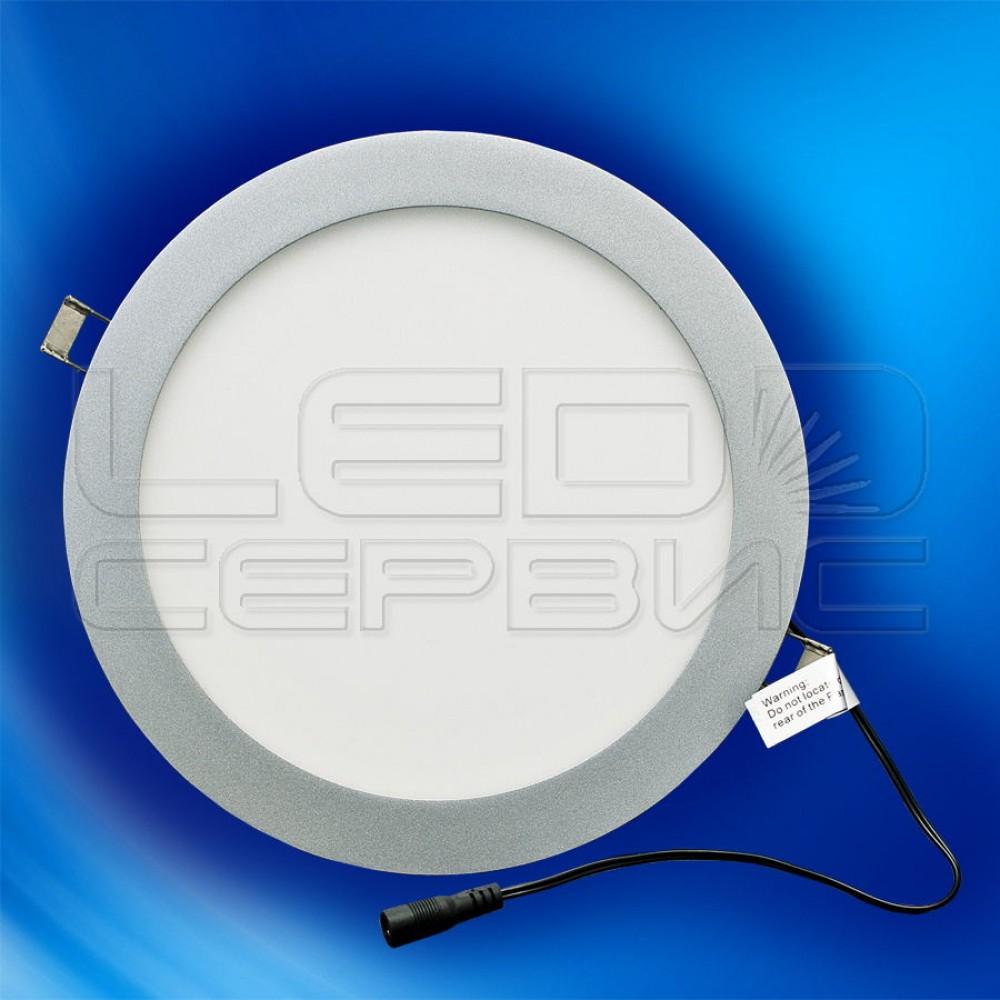 Светильник Slim LS-L2419 круглый 15Вт нейтральный свет Premium