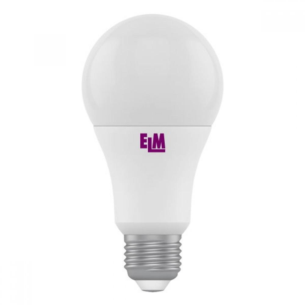 Лампа светодиодная ELM B60 PA-10 10W E27 4000K 18-0007