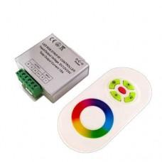 Контроллер для RGB ленты OEM 18A-RF-5 Touch Белый