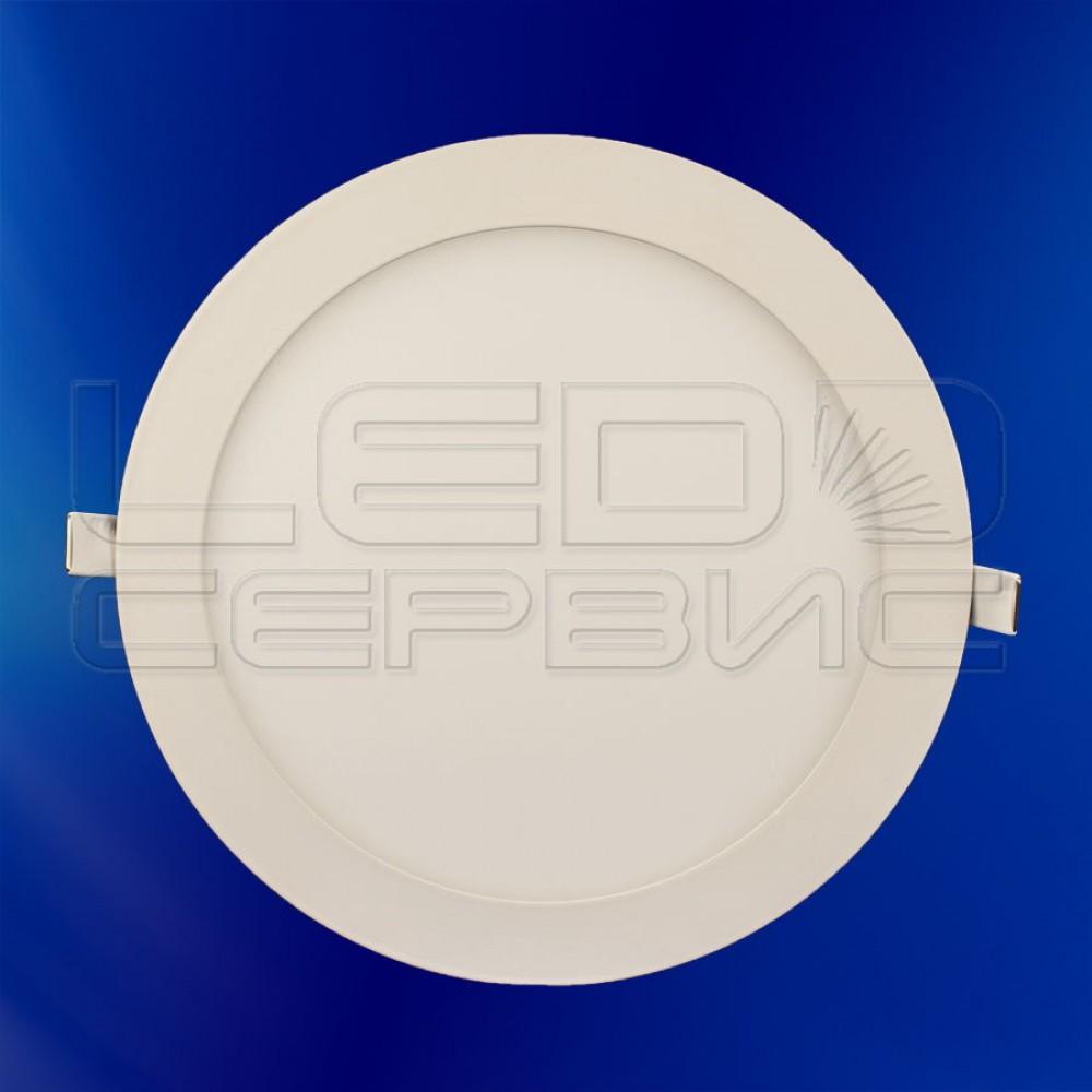 Светильник Slim LS-2835 круглый 18Вт теплый свет