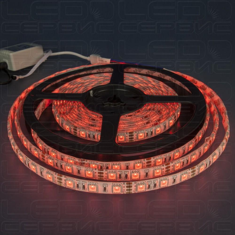 Светодиодная лента LS60 5050 IP55 RGB