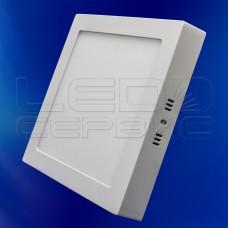 Светильник накладной LS-2835 квадратный 18Вт холодный свет
