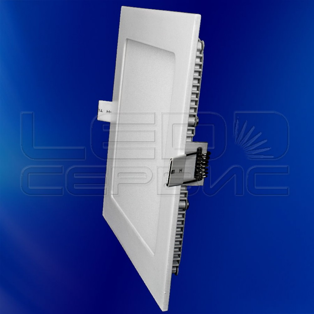 Светильник Slim LS-2835 квадратный 12Вт холодный свет