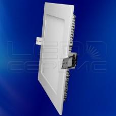 Светильник Slim LS-2835 квадратный 12Вт теплый свет