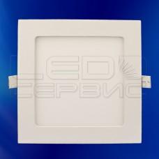 Светильник Slim LS-2835 квадратный 6Вт холодный свет