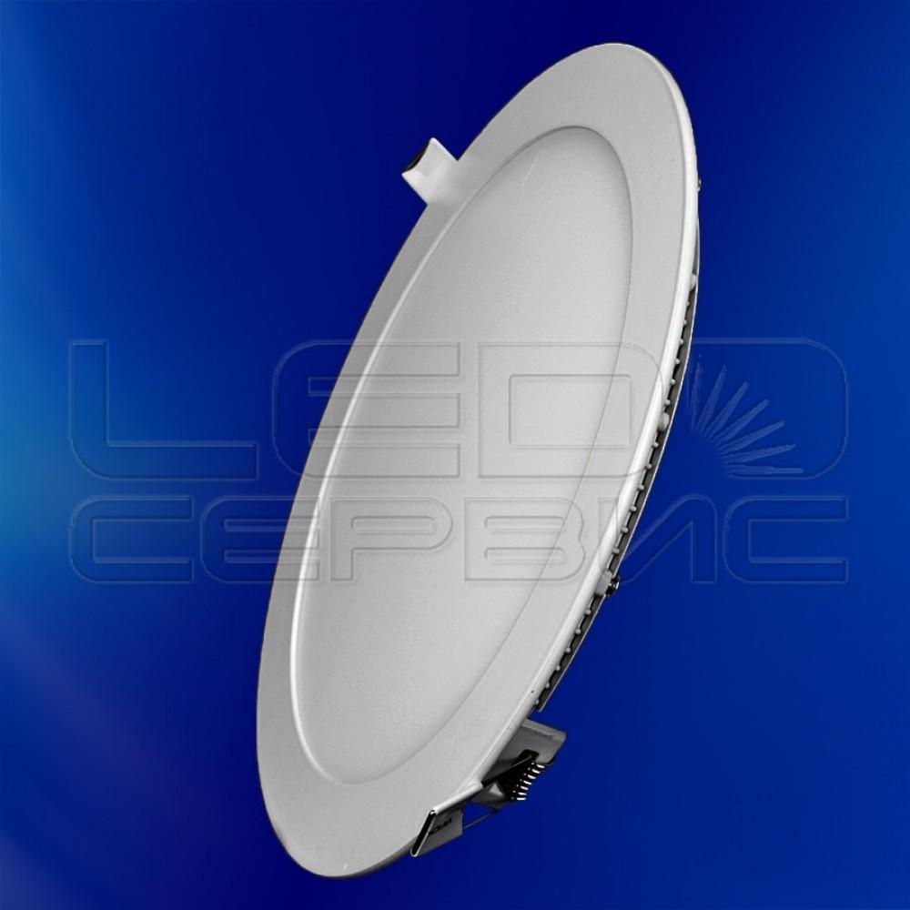 Светильник Slim LS-2835 круглый 9Вт холодный свет
