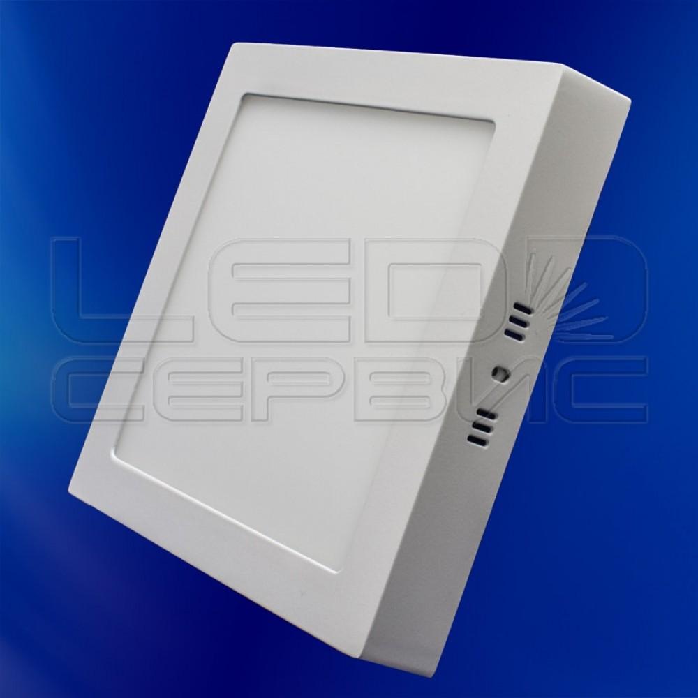 Светильник накладной LS-2835 квадратный 6Вт нейтральный свет