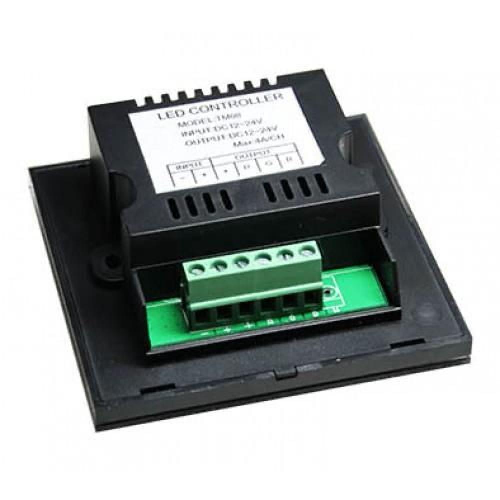 Контроллер для RGB ленты OEM 12A-Touch Черный встраиваемый