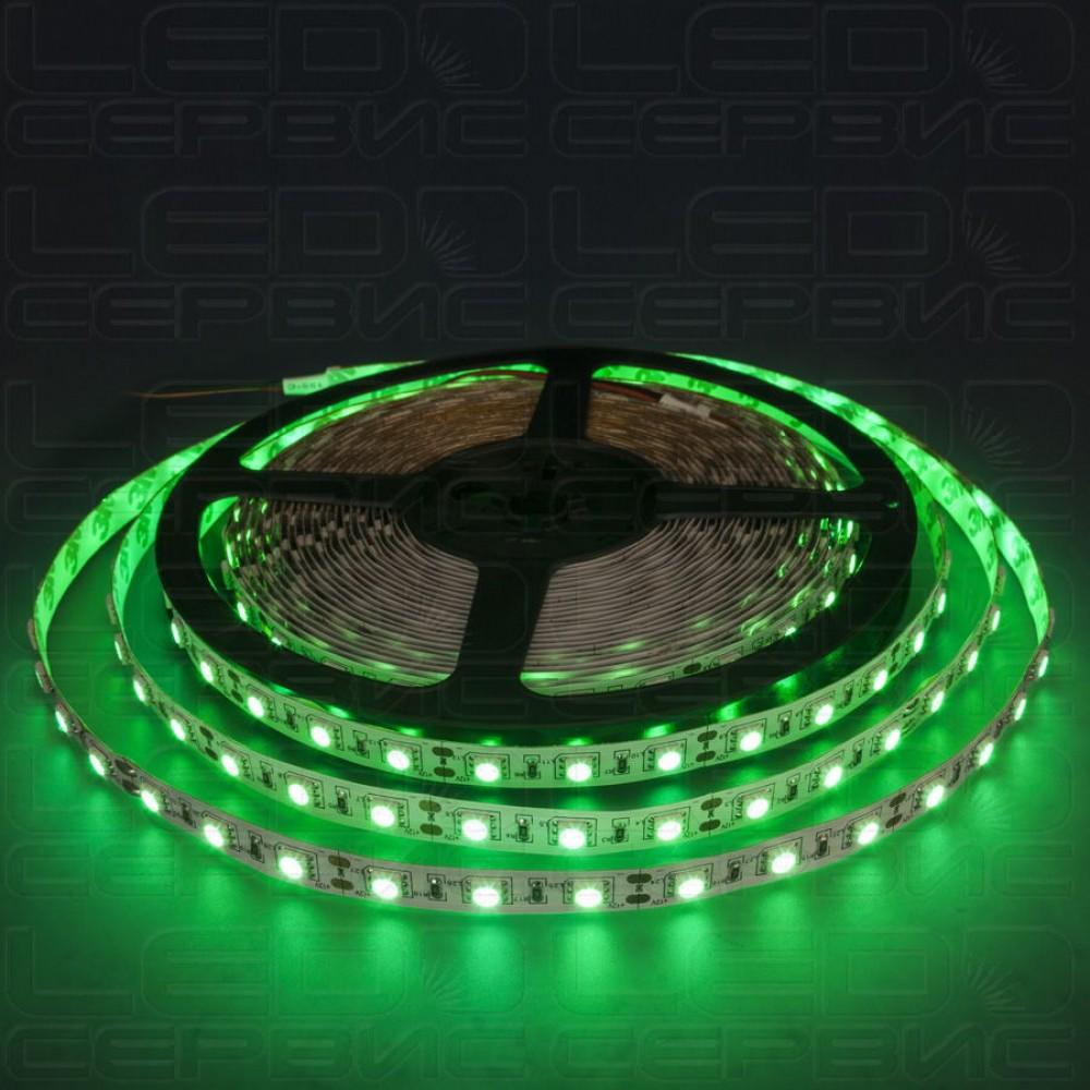 Светодиодная лента LS60 5050 IP55 зеленый свет Premium