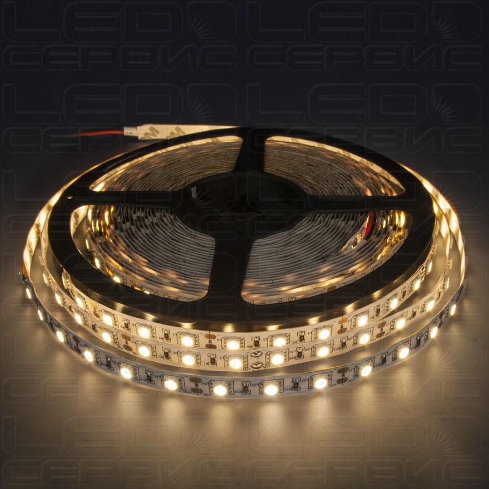 Светодиодная лента LS60 5050 IP20 теплый свет Premium