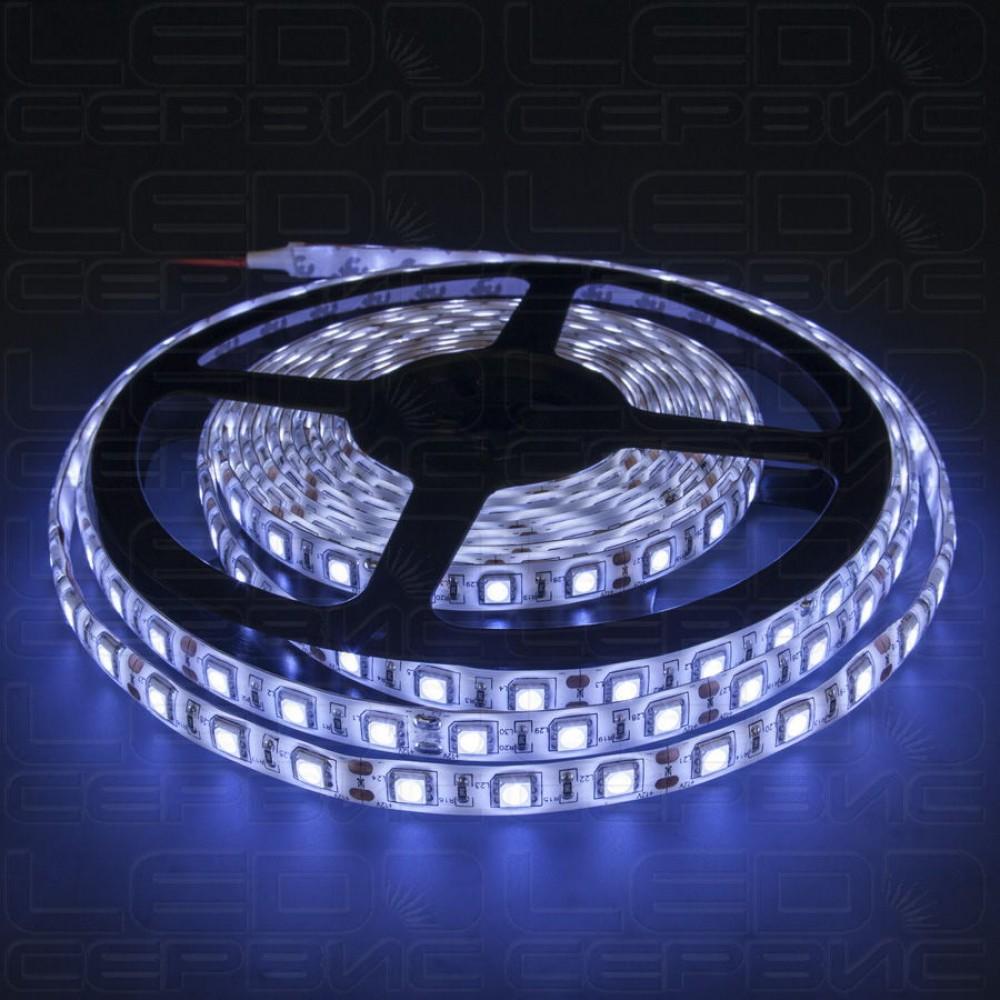 Светодиодная лента LS60 5050 IP55 холодный свет Premium