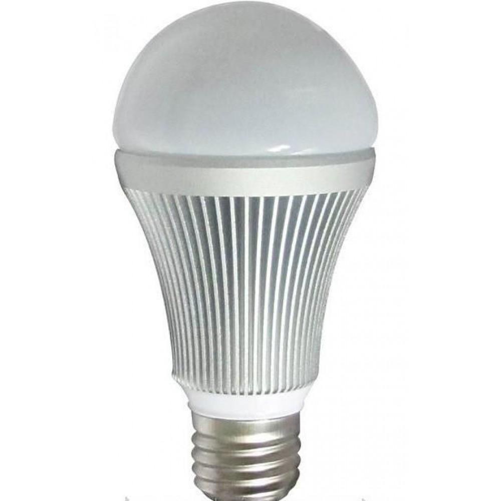 Лампа светодиодная LVU A60 8Вт E27 3000K, алюм.корп.