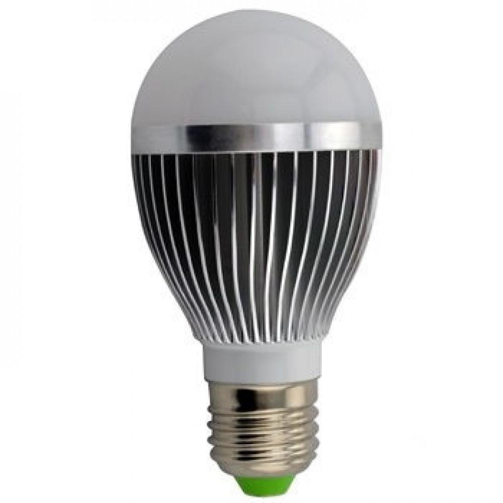 Лампа светодиодная 8Вт 12В Е27 5500К