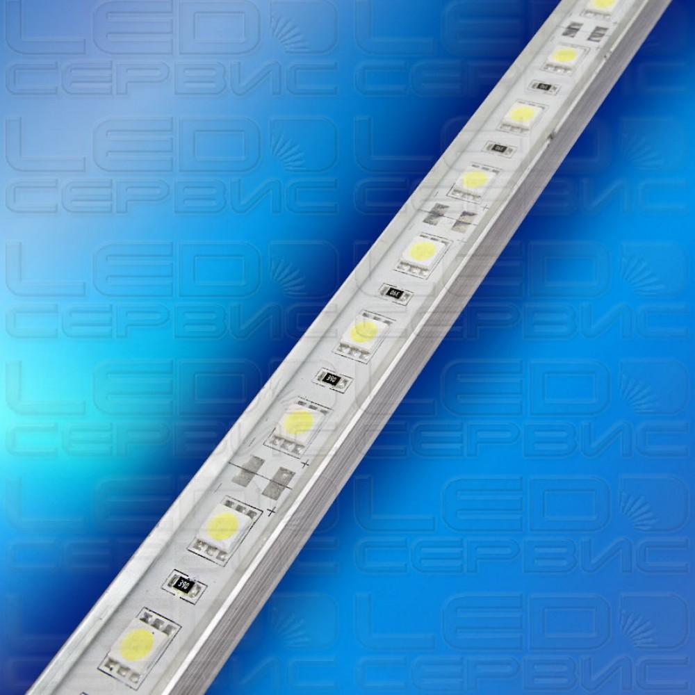 Светодиодная линейка LS60 5050 IP55 холодный свет