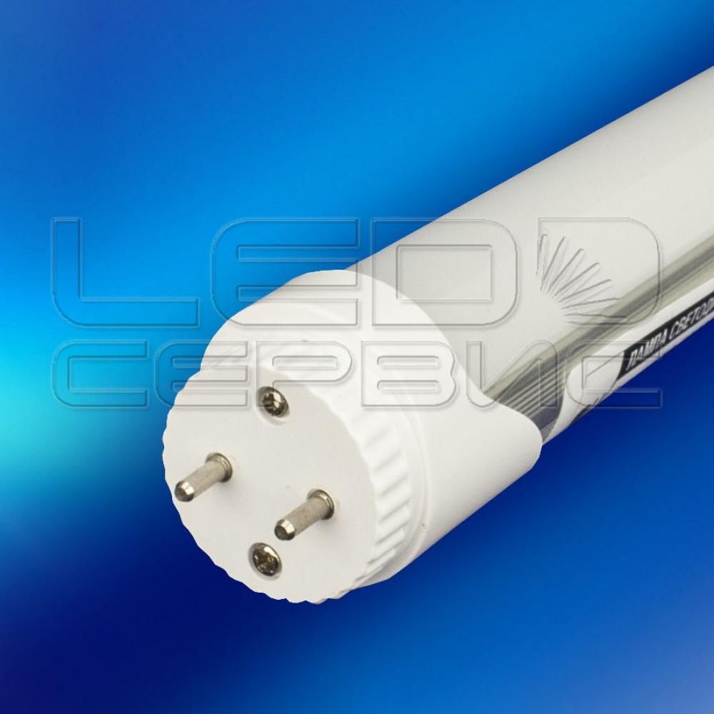 Лампа светодиодная Т8 F2835-600 8Вт 6500К (Поворотный цоколь)