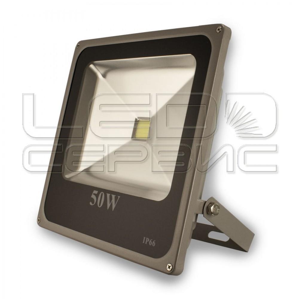Прожектор светодиодный LS-T6004 50Вт Slim