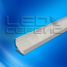 Профиль угловой алюминиевый ЛПУ17 неанодированный
