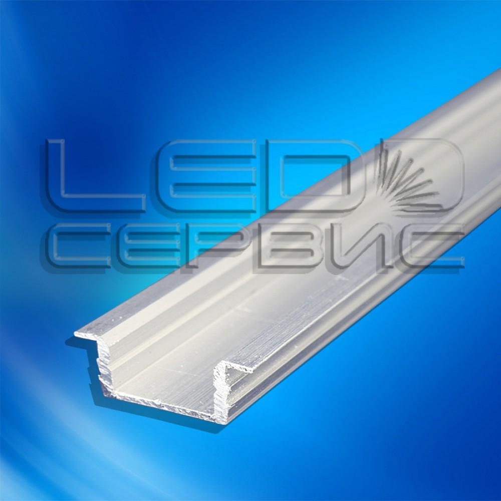 Профиль врезной алюминиевый ЛПВ7 неанодированный