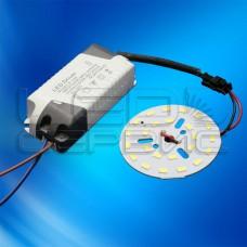 Набор для модернизации светильника (светодиодная матрица+драйвер LS12W-5630-A-W)