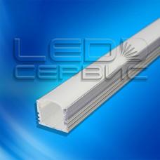 Профиль накладной алюминиевый ЛП12 неанодированный