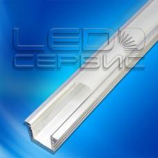 Профиль врезной алюминиевый ЛПВ12 неанодированный