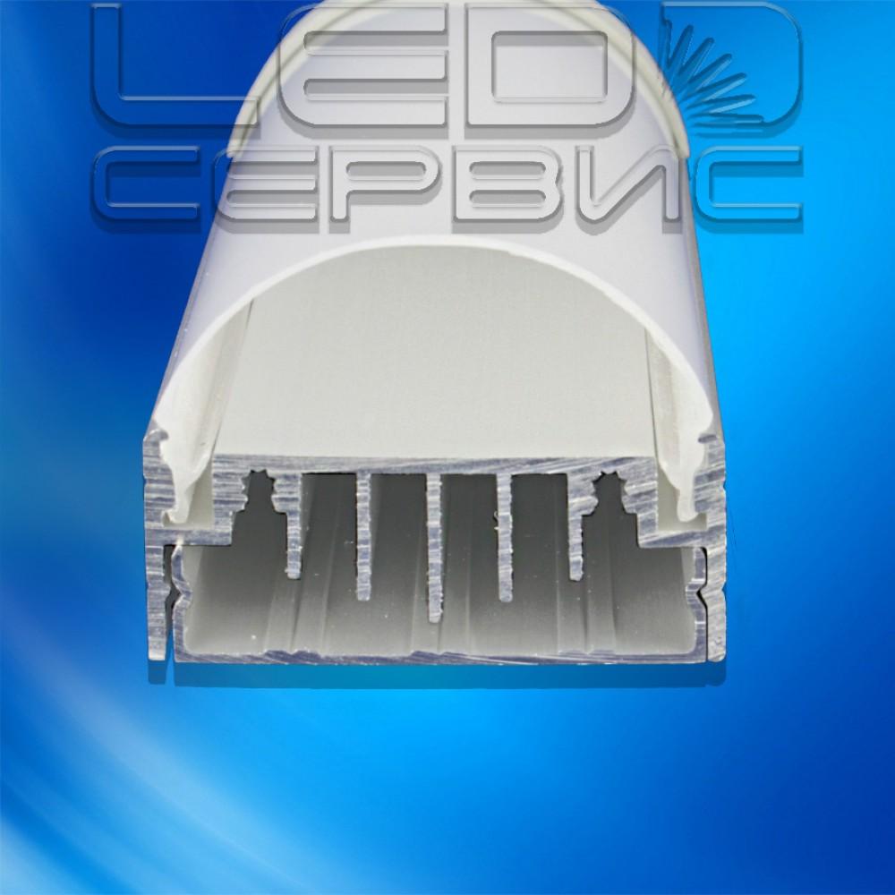 Профиль алюминиевый анодированный ЛП-50