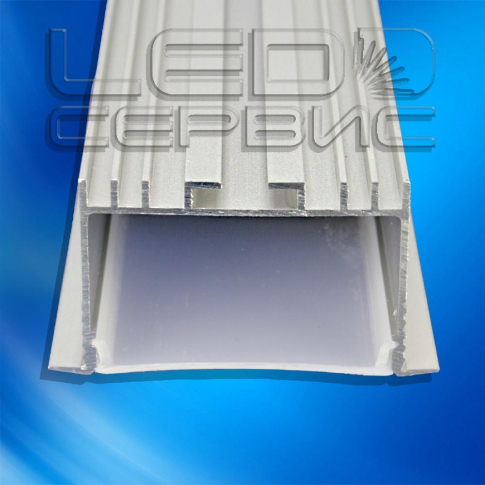 Профиль алюминиевый анодированный врезной ЛПВ-40