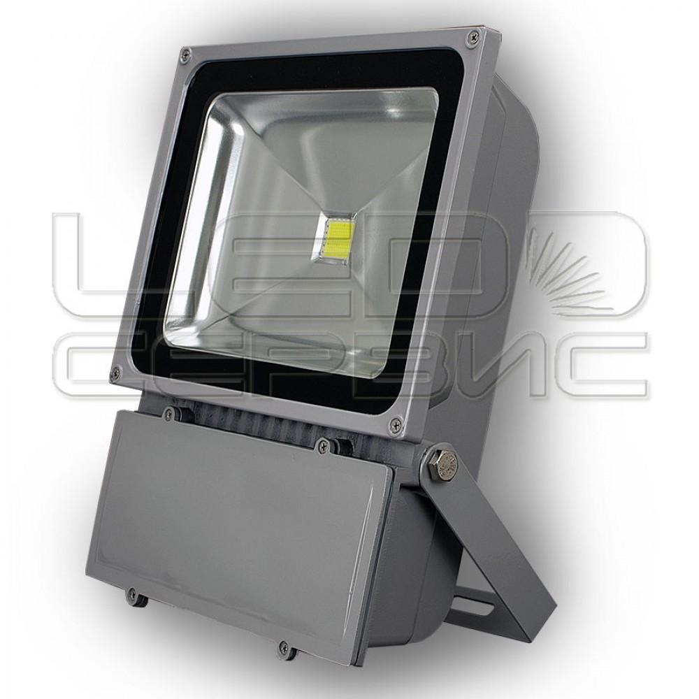 Прожектор светодиодный LS-T6001 100Вт Slim