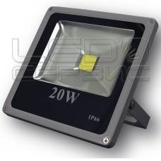 Прожектор светодиодный LS-T6004 20Вт Slim