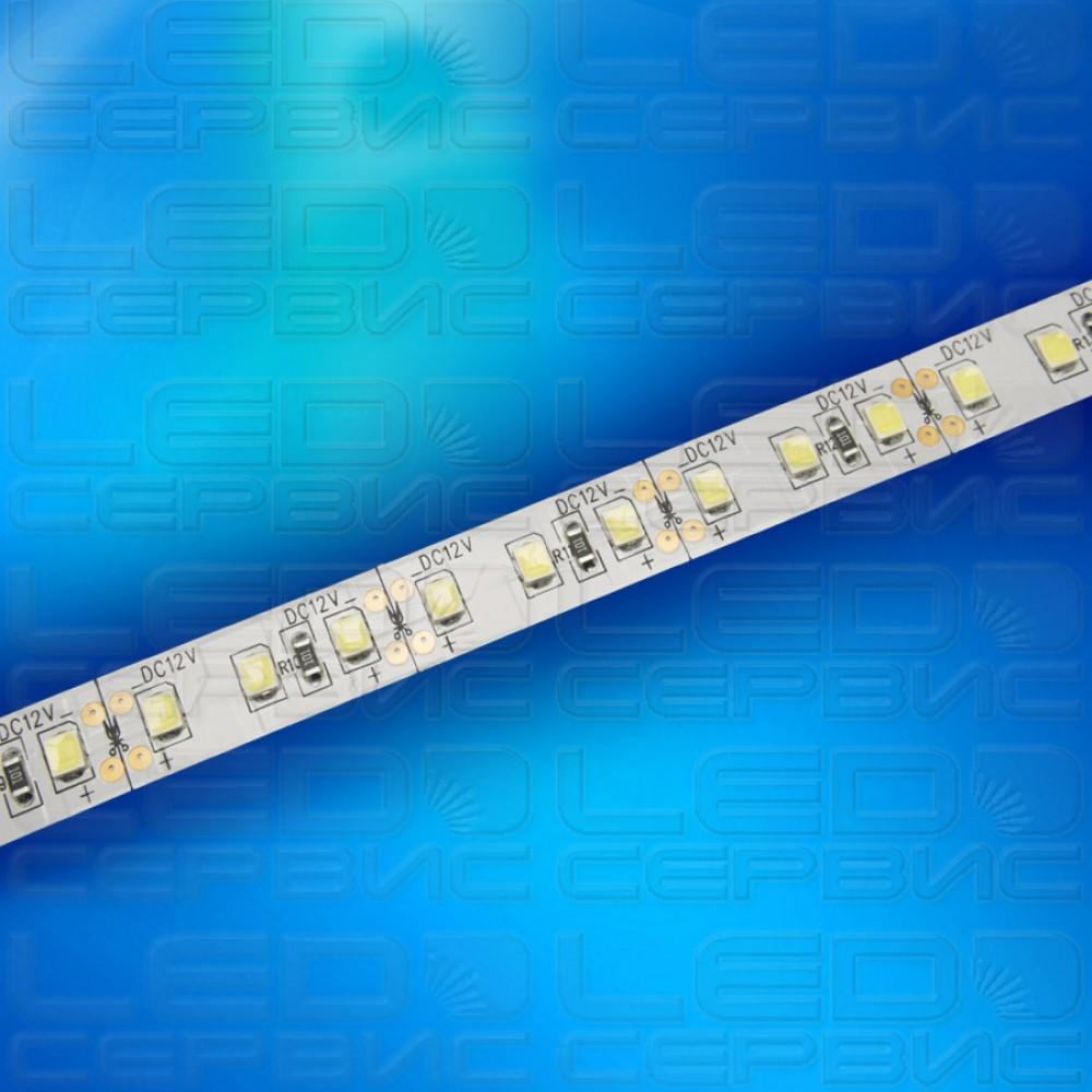 Светодиодная лента LS120 2835 IP20 холодный свет Premium