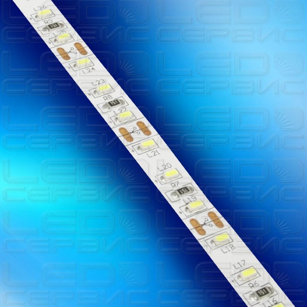 Светодиодная лента LS120 3014 IP20 холодный свет