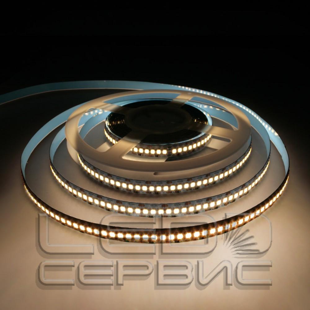 Светодиодная лента LS192 2835 24V IP20 теплый свет Premium