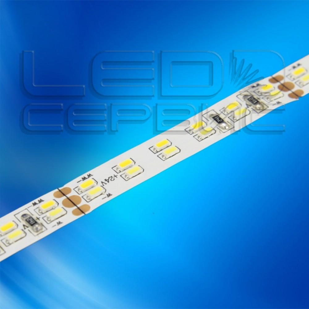 Светодиодная лента LS240 3014 24V IP20 холодный+теплый свет Premium