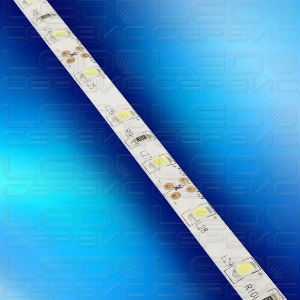 Светодиодная лента LS60 2835 IP55 холодный свет