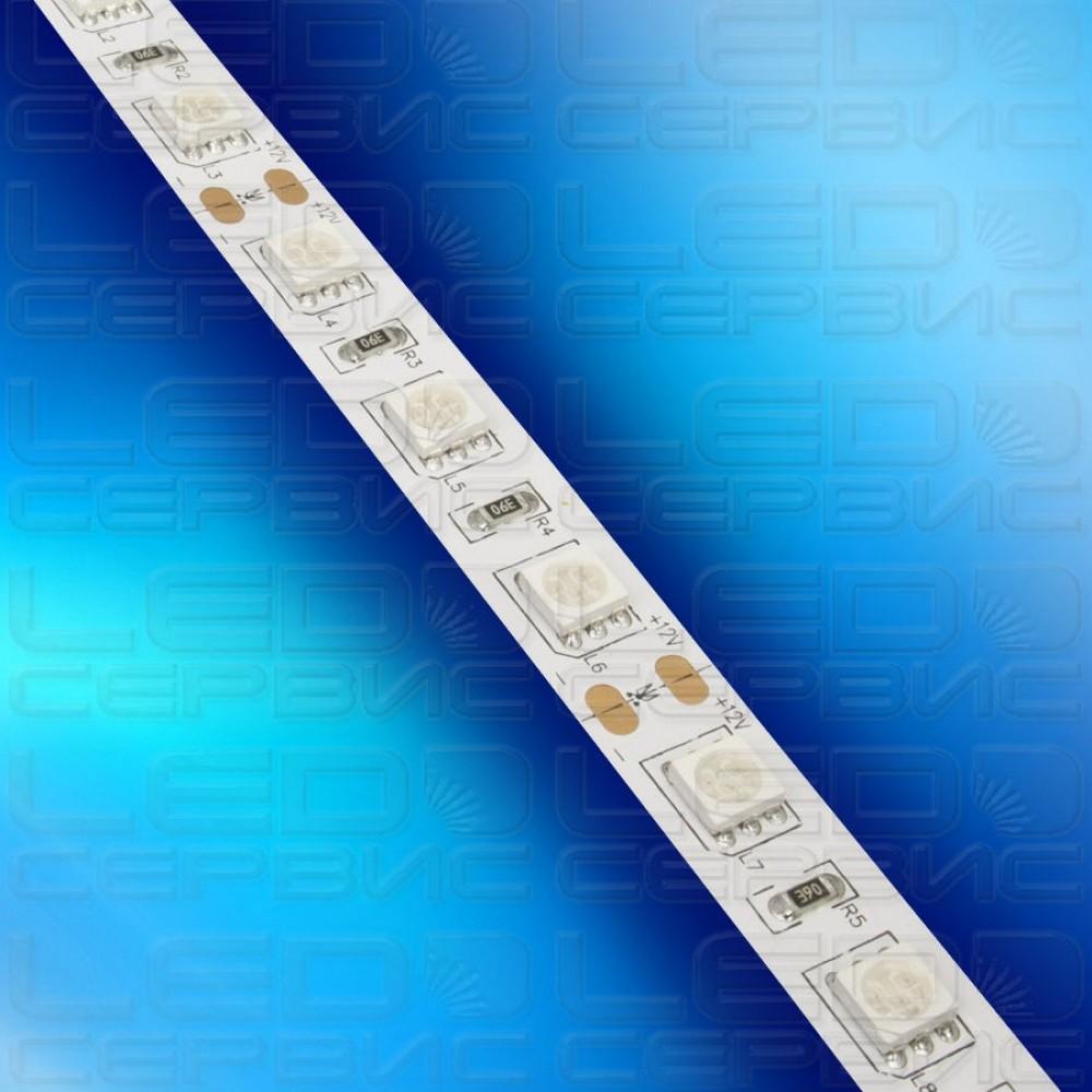 Светодиодная лента LS60 5050 IP20 синий свет