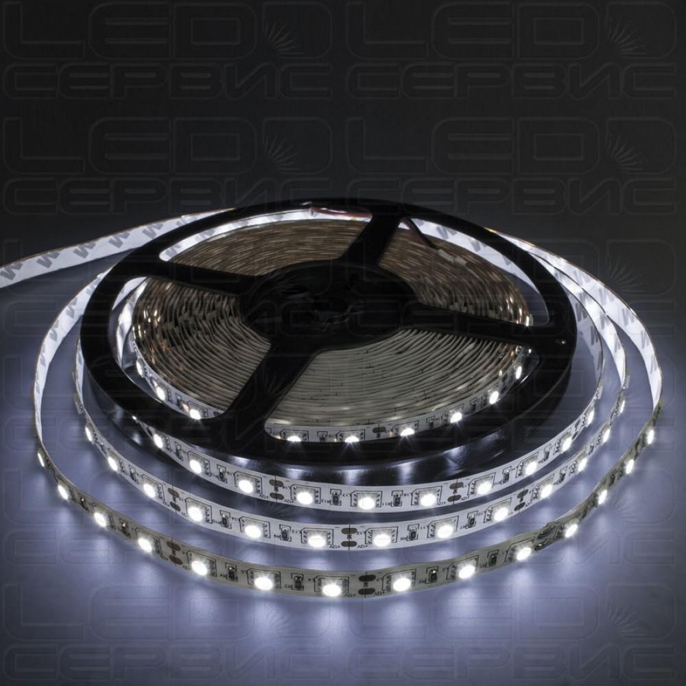 Светодиодная лента LS60 5050 IP20 холодный свет Premium