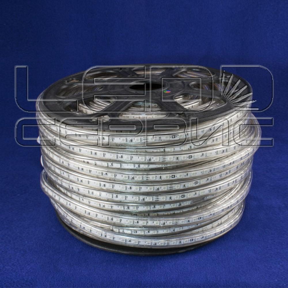 Светодиодная лента LS60 5050 IP68 холодный свет 220В