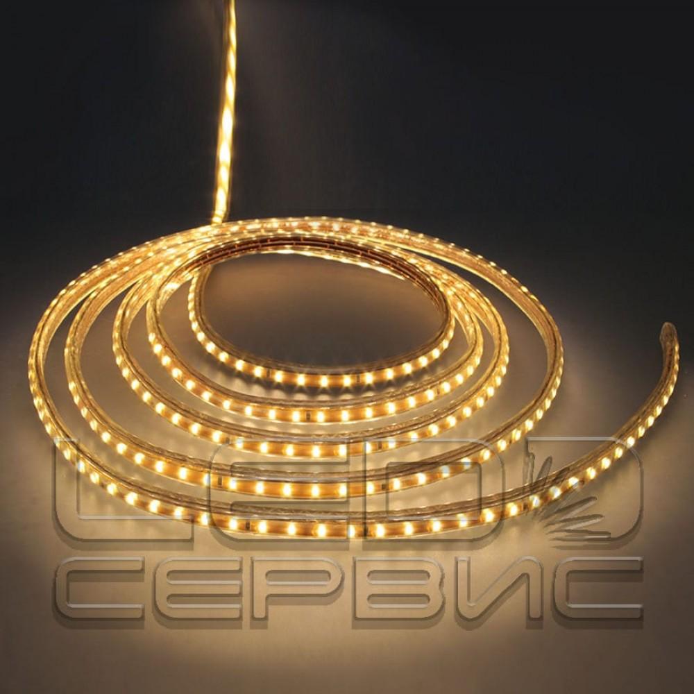 Светодиодная лента LS120 3014 IP68 теплый свет 220В