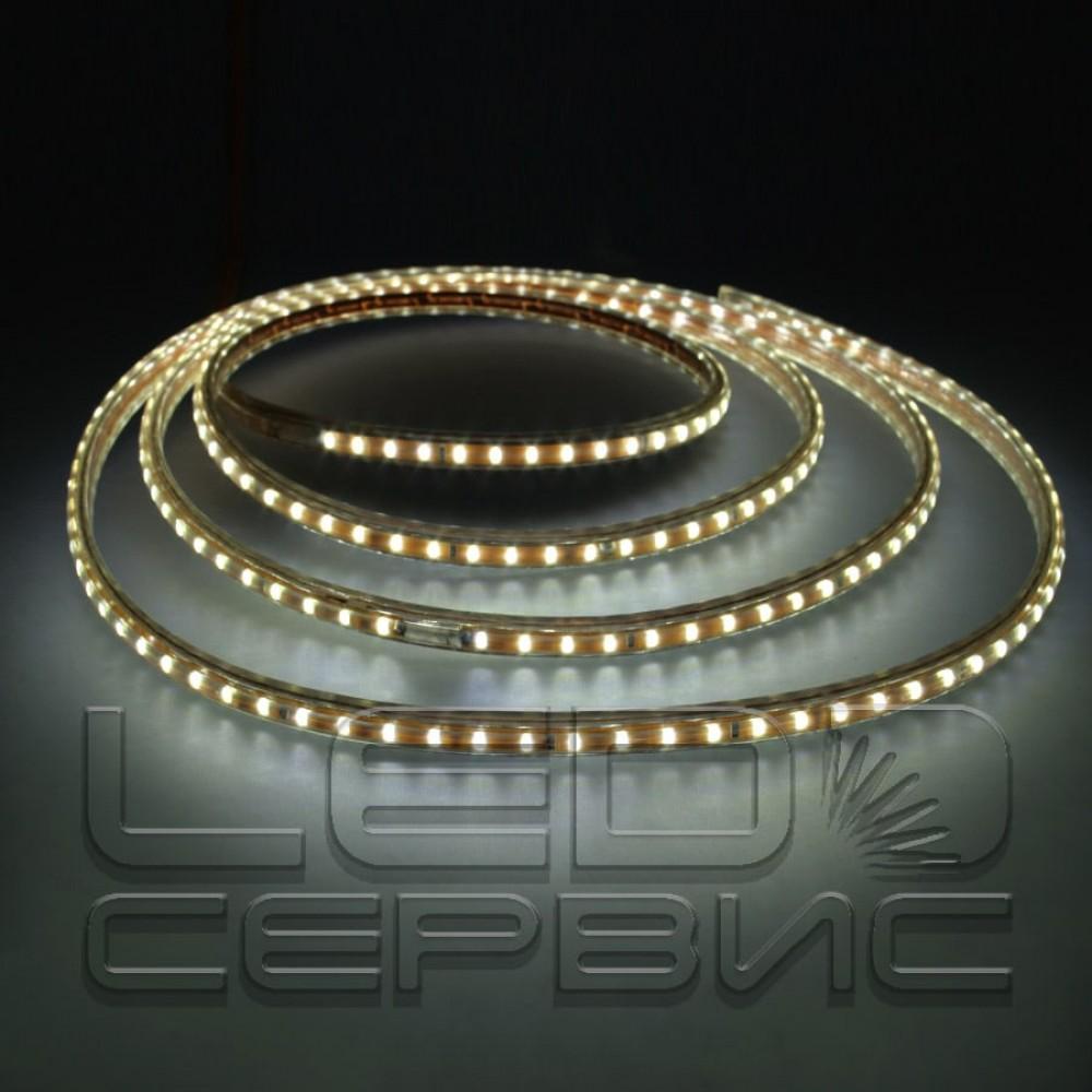 Светодиодная лента LS120 3014 IP68 холодный свет 220В