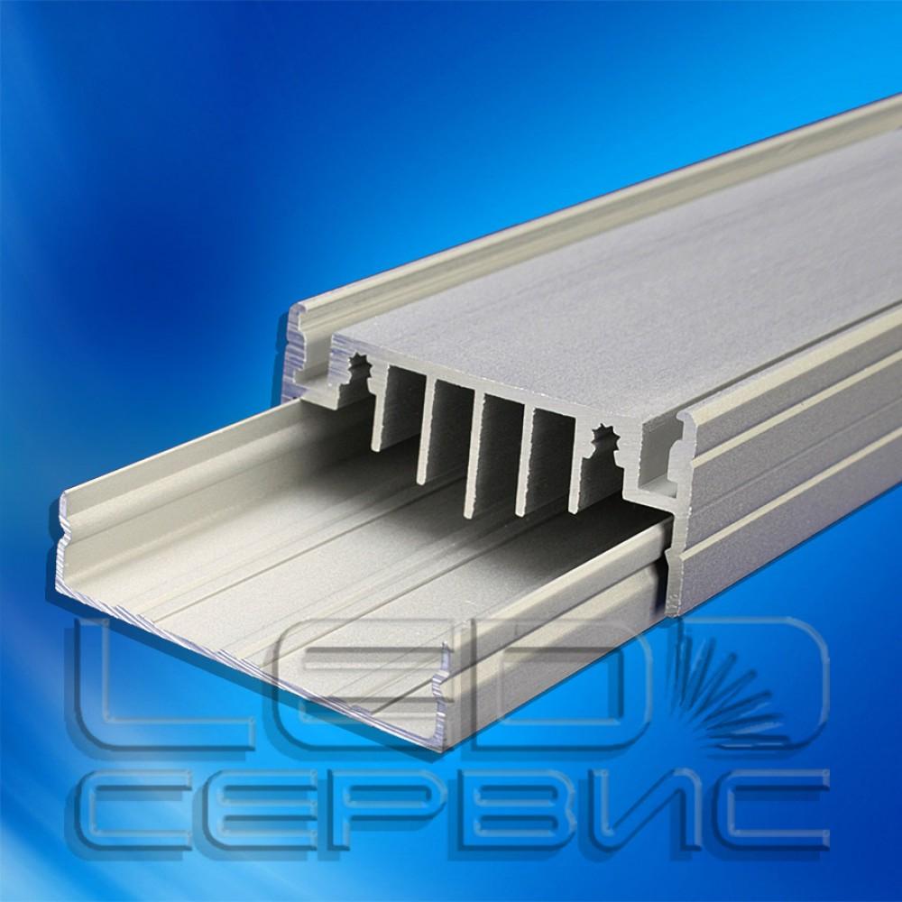 Профиль алюминиевый анодированный базовый ЛПБ-50