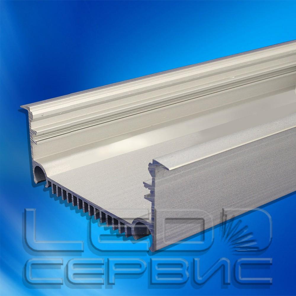 Профиль алюминиевый анодированный врезной ЛПВ-70